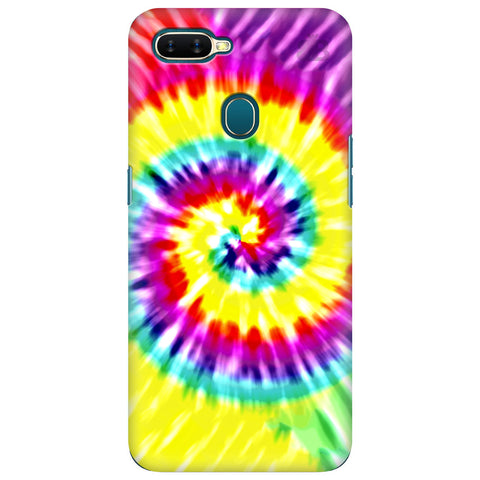 Tie Die Art Oppo A7 Cover