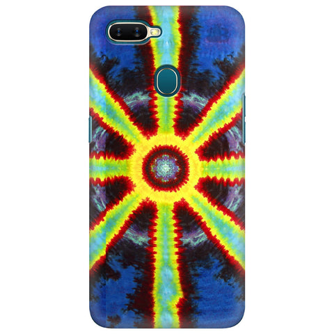 Tie Die Pattern Oppo A7 Cover
