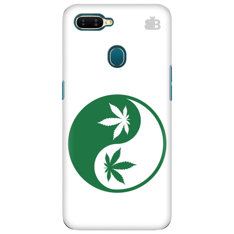 Weed Yin Yang Oppo A7 Cover