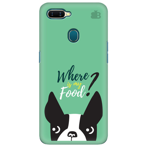 Where is my Food Oppo A7 Cover