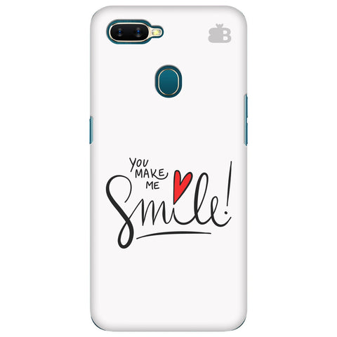 You make me Smile Oppo A7 Cover