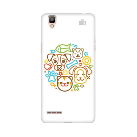Cute Pets Oppo F1 Plus Phone Cover