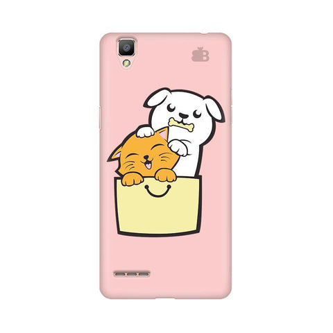 Kitty Puppy Buddies Oppo F1 Plus Phone Cover