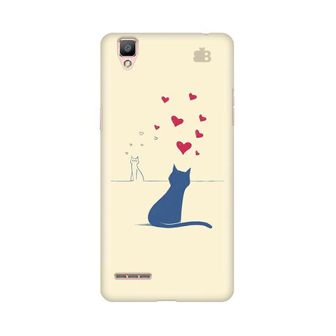 Kitty in Love Oppo F1 Plus Phone Cover