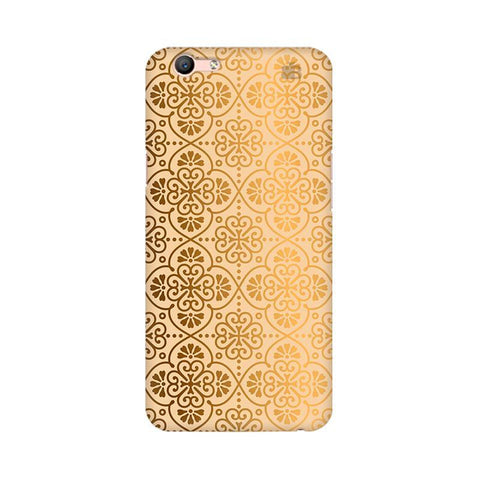 Ethnic Gold Ornament Oppo F1s Phone Cover