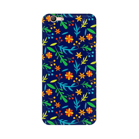 Vibrant Floral Pattern Oppo F1s Phone Cover
