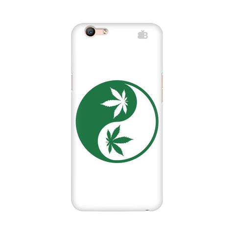 Weed Yin Yang Oppo F1s Phone Cover