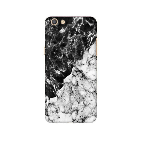Black White Marble Oppo F3 Phone Cover