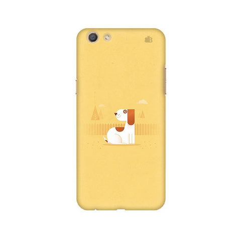 Calm Dog Oppo F3 Phone Cover