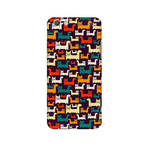Chill Cats Oppo F3 Phone Cover