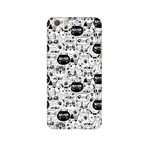 Cute Cats Pattern Oppo F3 Phone Cover