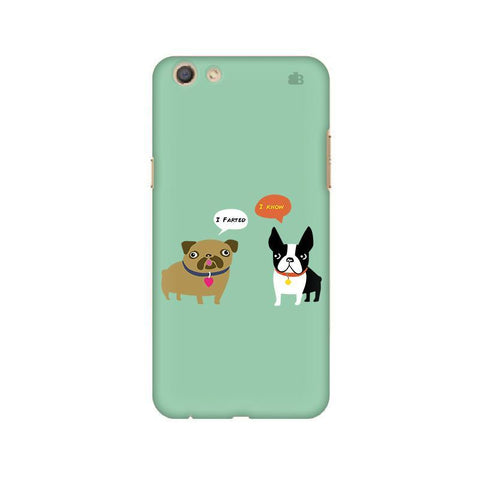 Cute Dog Buddies Oppo F3 Phone Cover