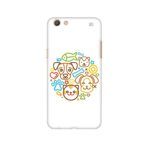 Cute Pets Oppo F3 Phone Cover