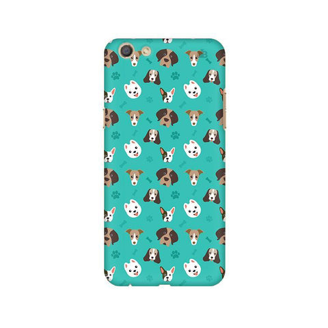 Doggie Pattern Oppo F3 Phone Cover