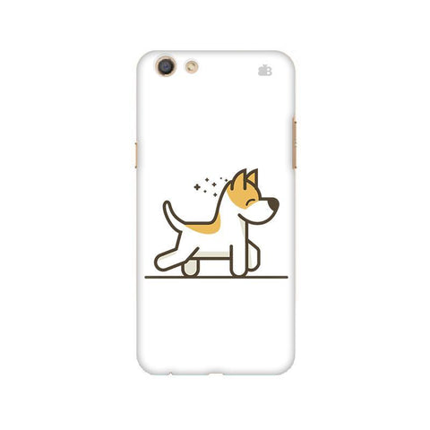 Happy Puppy Oppo F3 Phone Cover