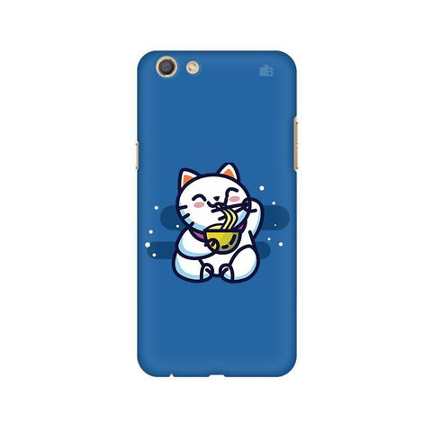 KItty eating Noodles Oppo F3 Phone Cover