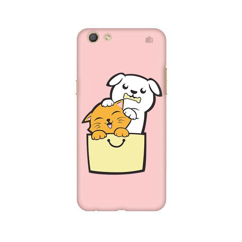 Kitty Puppy Buddies Oppo F3 Phone Cover