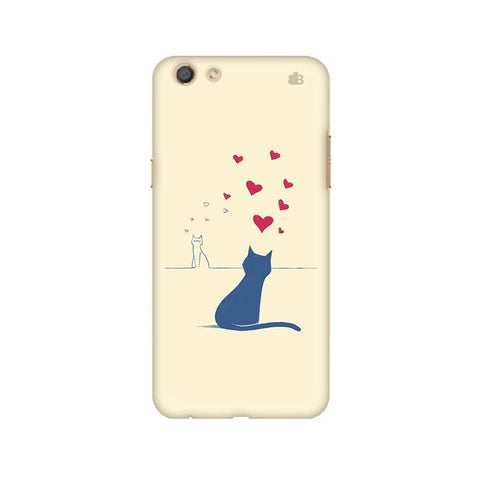 Kitty in Love Oppo F3 Phone Cover