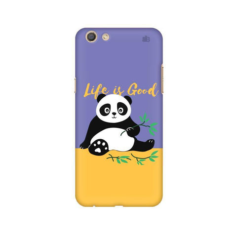 Panda Life is Good Oppo F3 Phone Cover