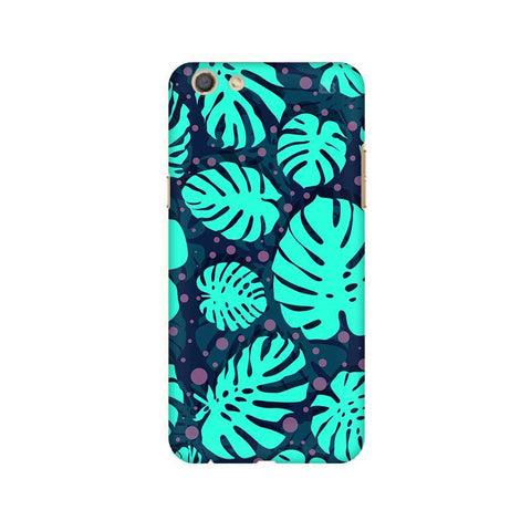 Tropical Leaves Pattern Oppo F3 Phone Cover