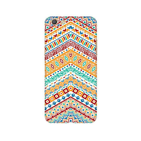 Wavy Ethnic Art Oppo F3 Phone Cover