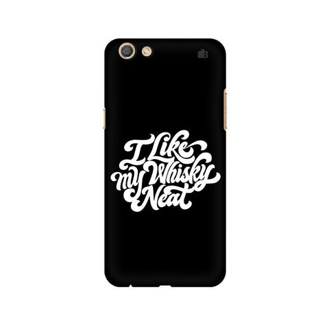 Whiskey Neat Oppo F3 Phone Cover