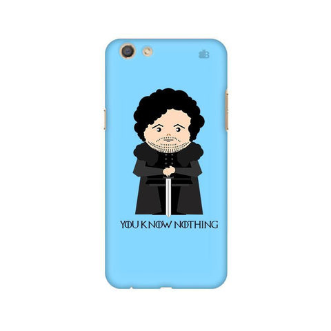 You Know Nothing Oppo F3 Phone Cover