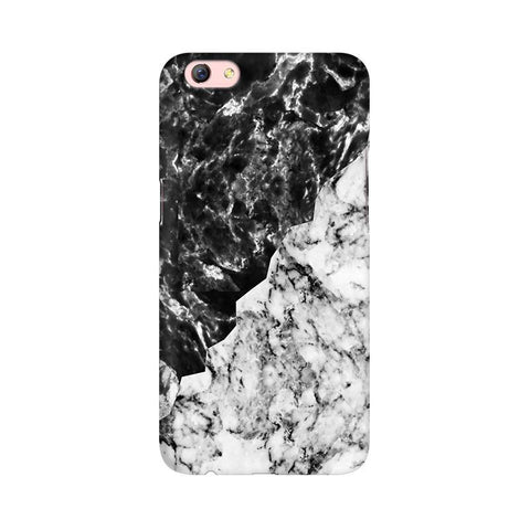 Black White Marble Oppo F3 Plus Phone Cover