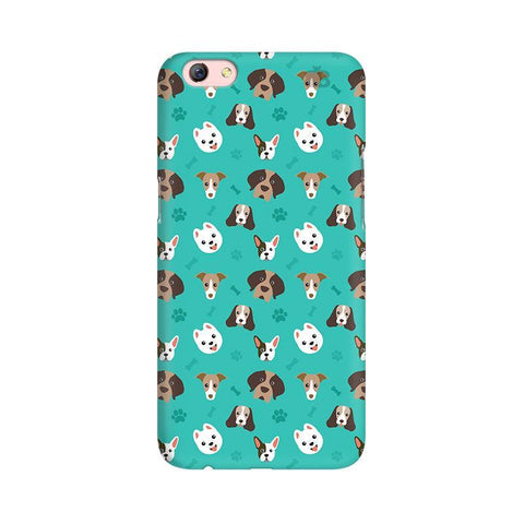Doggie Pattern Oppo F3 Plus Phone Cover