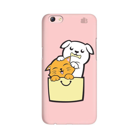 Kitty Puppy Buddies Oppo F3 Plus Phone Cover