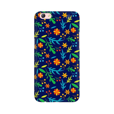 Vibrant Floral Pattern Oppo F3 Plus Phone Cover