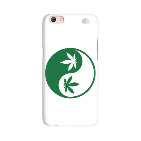 Weed Yin Yang Oppo F3 Plus Phone Cover