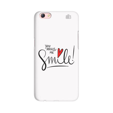 You make me Smile Oppo F3 Plus Phone Cover