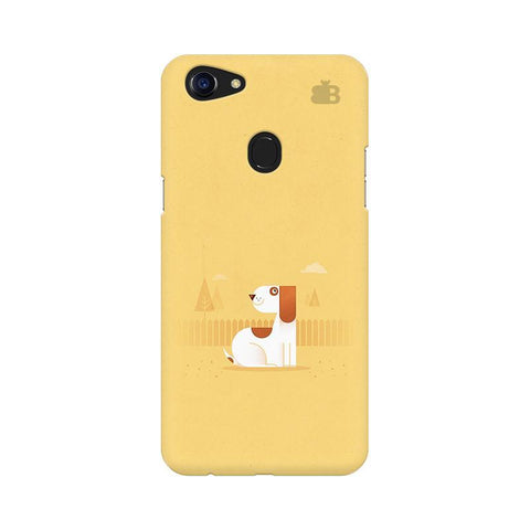 Calm Dog Oppo F5 Phone Cover