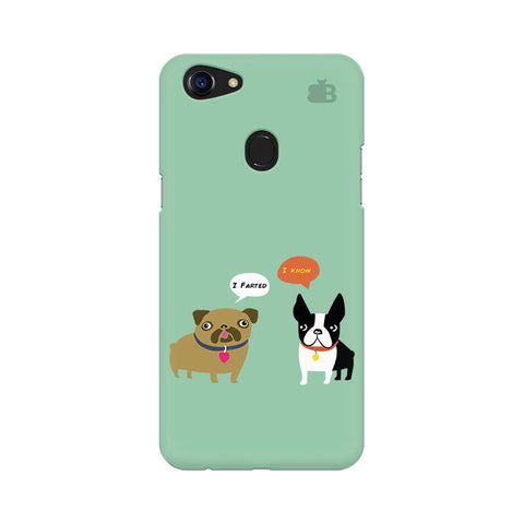 Cute Dog Buddies Oppo F5 Phone Cover