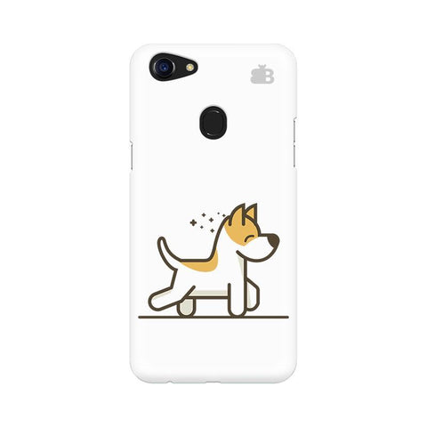 Happy Puppy Oppo F5 Phone Cover