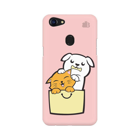 Kitty Puppy Buddies Oppo F5 Phone Cover