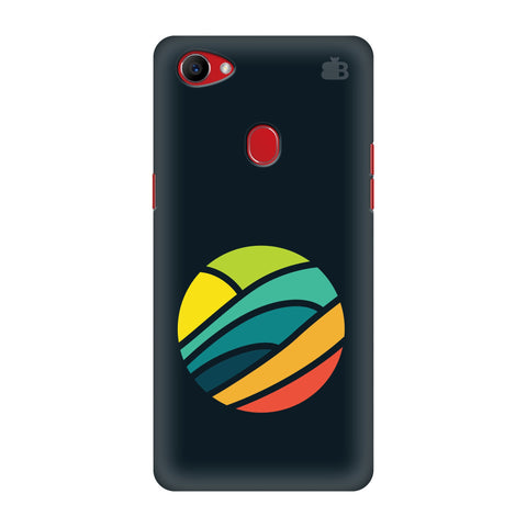 Abstract Circle Oppo F7 Cover