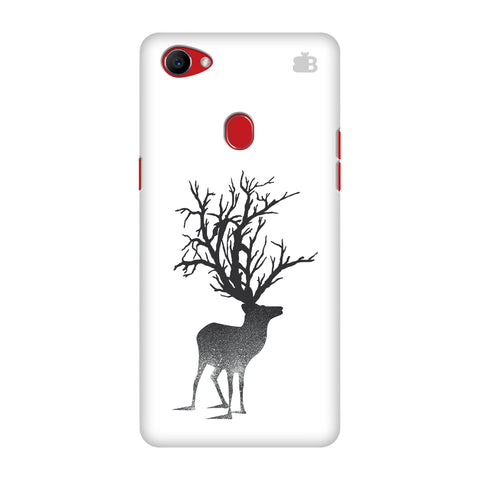 Abstract Deer Oppo F7 Cover