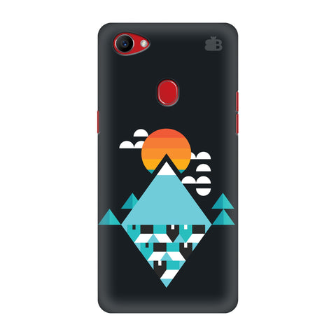 Abstract Mountains Oppo F7 Cover