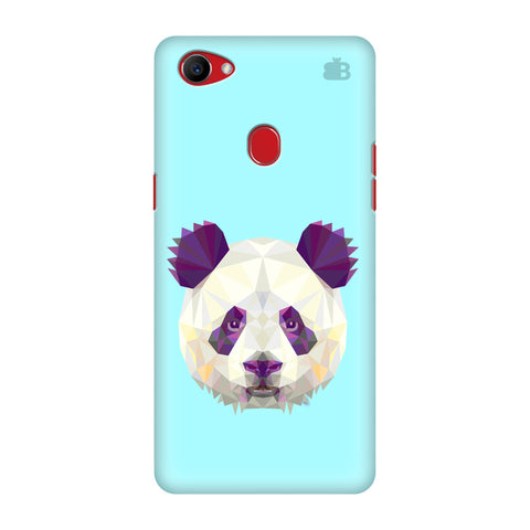 Abstract Panda Oppo F7 Cover