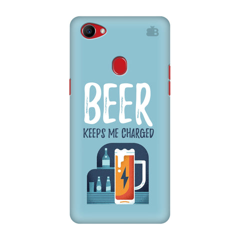 Beer Charged Oppo F7 Cover