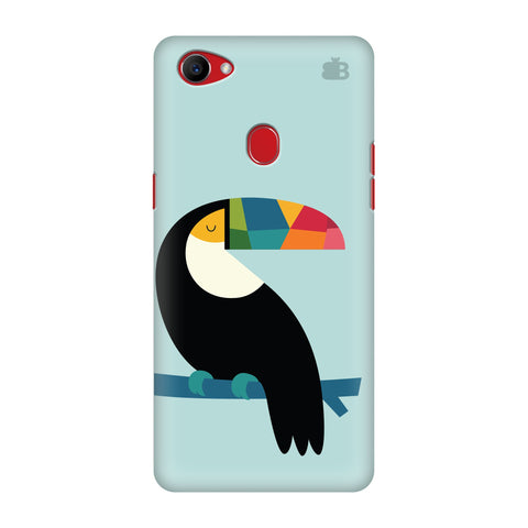 Calm Bird Oppo F7 Cover