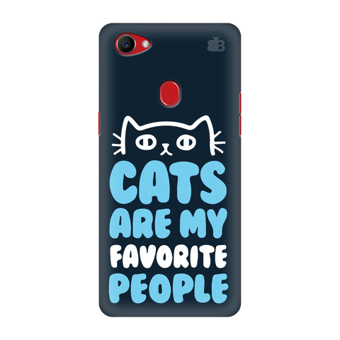 Cats favorite People Oppo F7 Cover