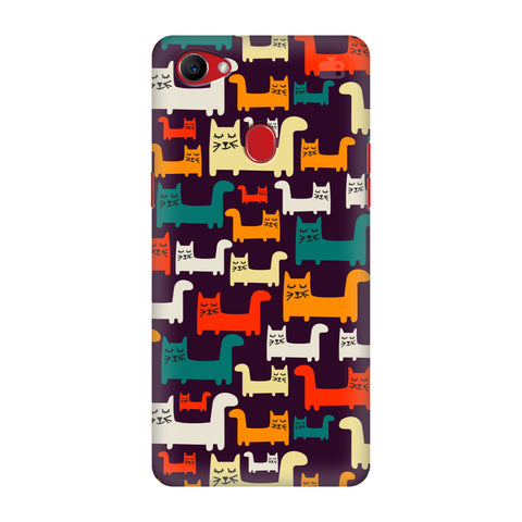 Chill Cats Oppo F7 Cover