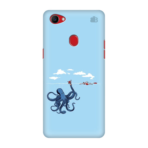 Decepetive Octopus Oppo F7 Cover
