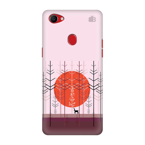 Deer in Forest Oppo F7 Cover
