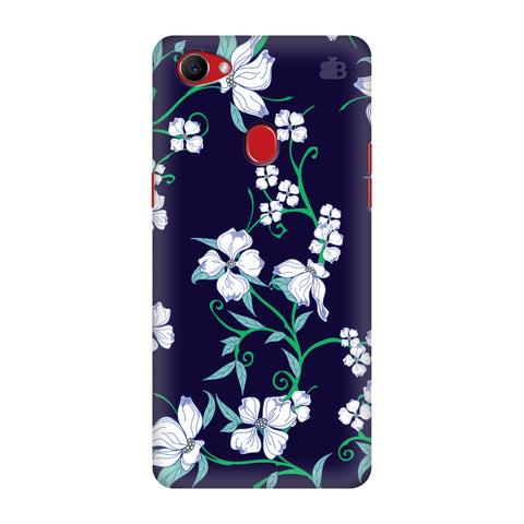Dogwood Floral Pattern Oppo F7 Cover