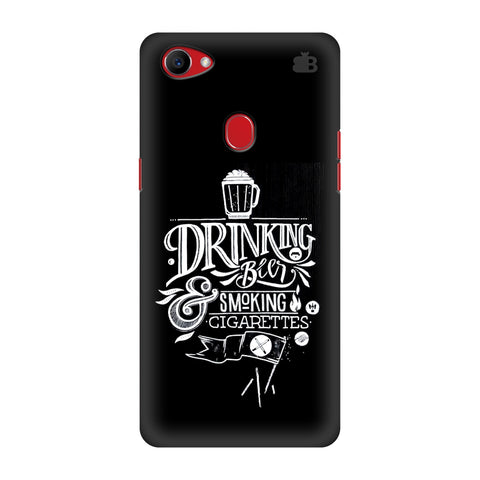 Drinking Beer Oppo F7 Cover