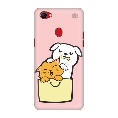 Kitty Puppy Buddies Oppo F7 Cover